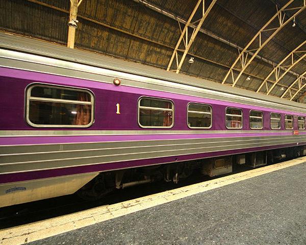 รถไฟแบบใหม่ของไทย
